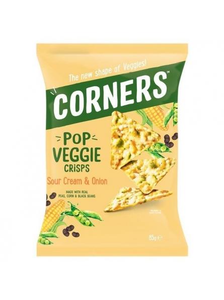 CORNERS VEGGIE CHIPS PORUMB...