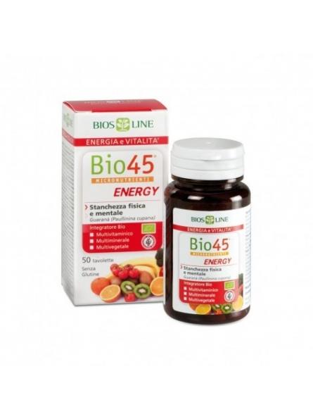 Bio45 Energy cu Guarana 50...