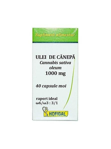 HOFIGAL ULEI CANEPA 1000 MG...