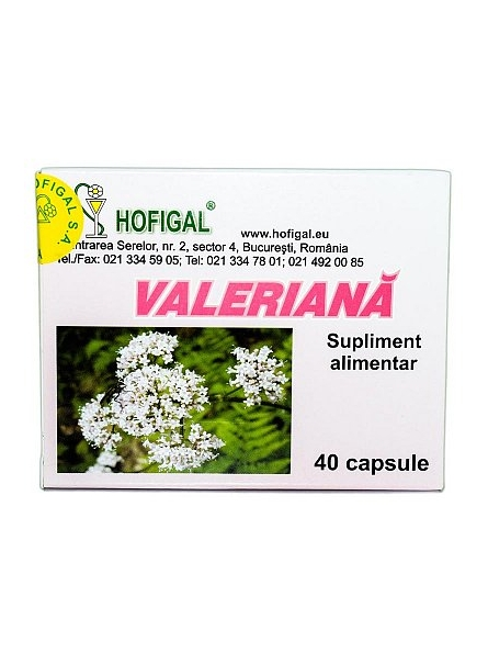 Valeriana 40 capsule Hofigal