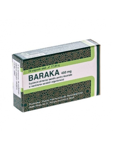 PHARCO BARAKA 450MG 24CPS