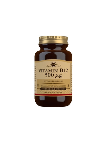 SOLGAR VITAMIN B12 500 MG...