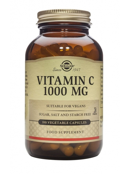 SOLGAR VITAMIN C 1000mg...
