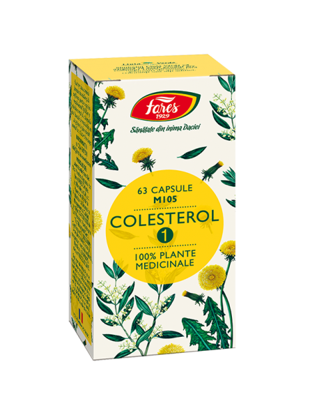 FARES COLESTEROL 1 63CPS