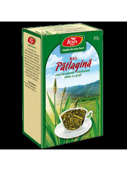 Ceai de frunze de patlagina...