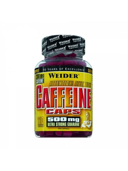 WEIDER CAFFEINE CAPS 110 CAPS.