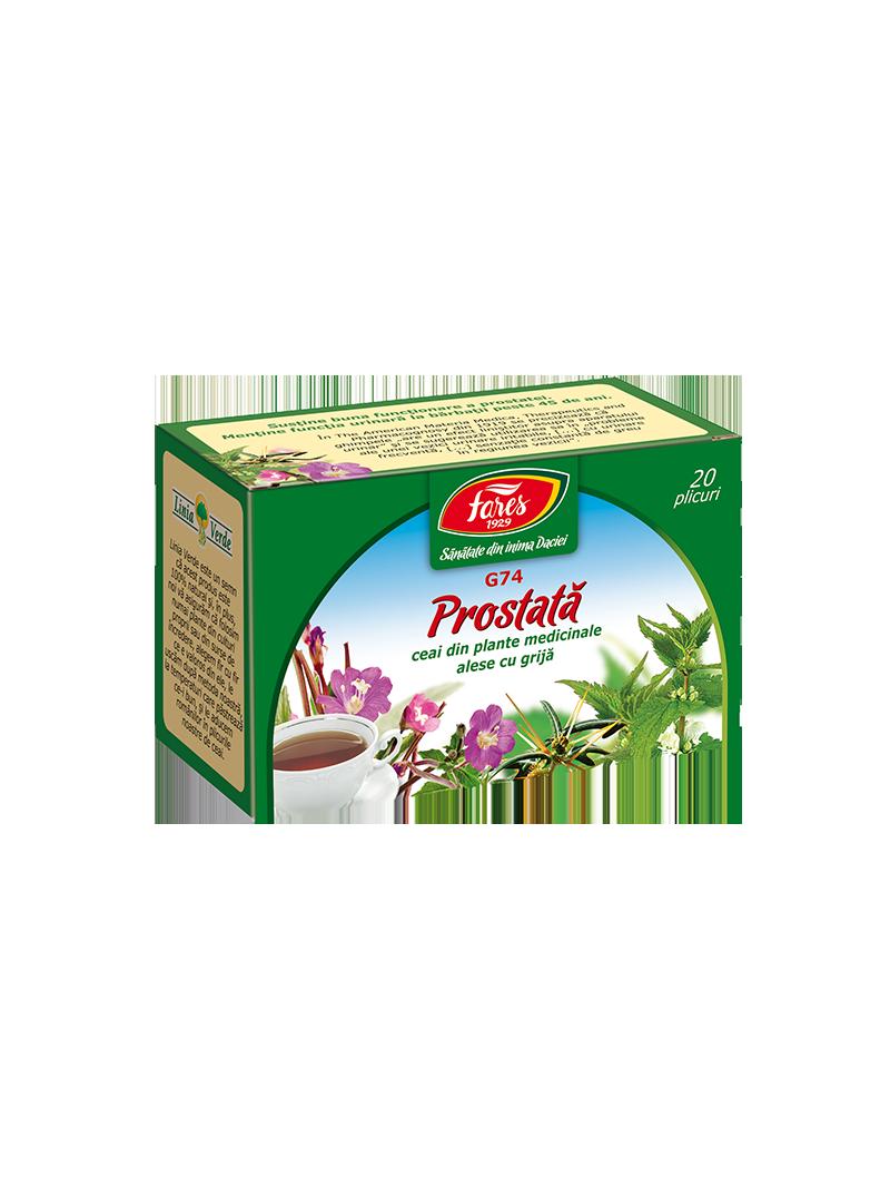Prostată, G73, ceai la pungă   prostatita.adonisfarm.ro