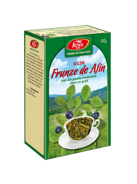 Ceai din frunze de afin 50g...