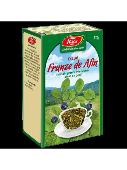 Ceai frunze afin 50g, D136,...