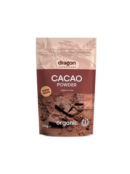 Cacao pudra raw bio 200g...