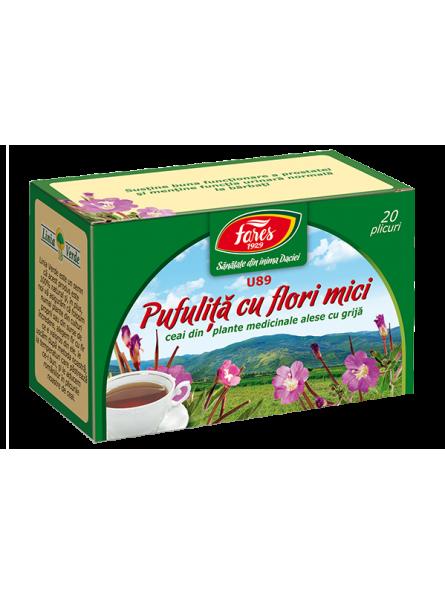Ceai pufulita cu flori...