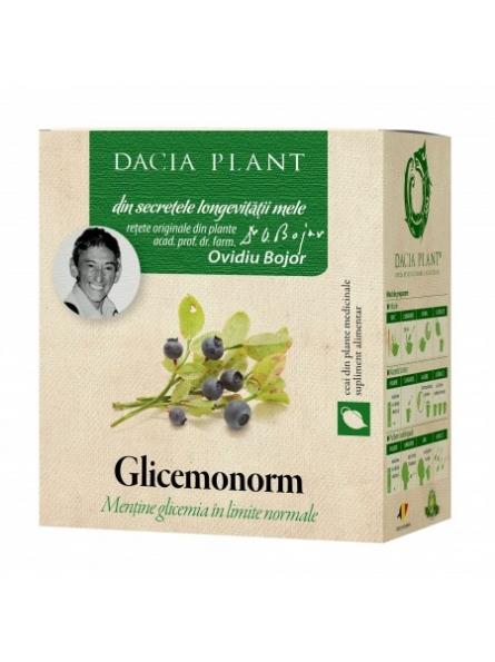 Ceai glicemonorm 50g Dacia...