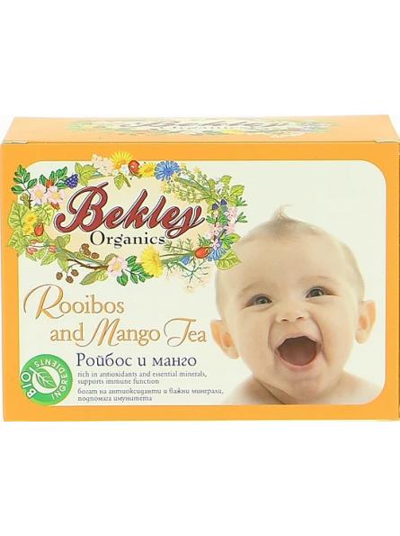 Ceai rooibos si mango baby...