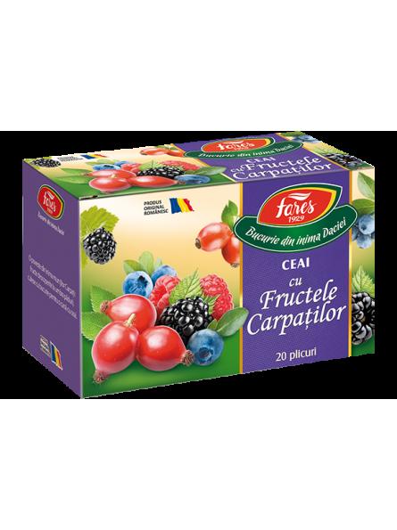 Ceai cu fructele Carpatilor...