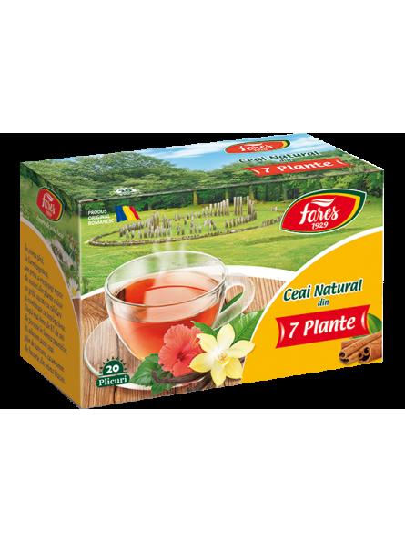 Ceai natural din 7 plante...
