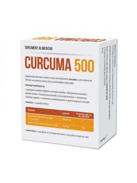 Curcuma 500mg 30 capsule...