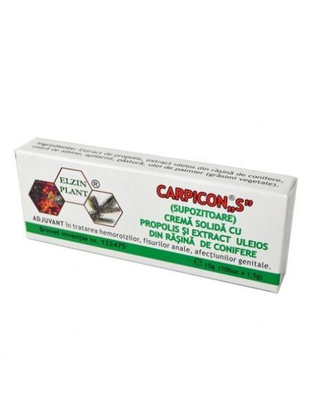 Carpicon S Supozitoare 1,5g...