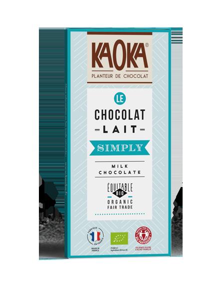 Ciocolata cu lapte bio...