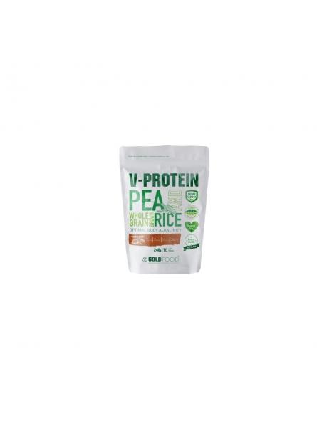 Pudra proteica vegetala...