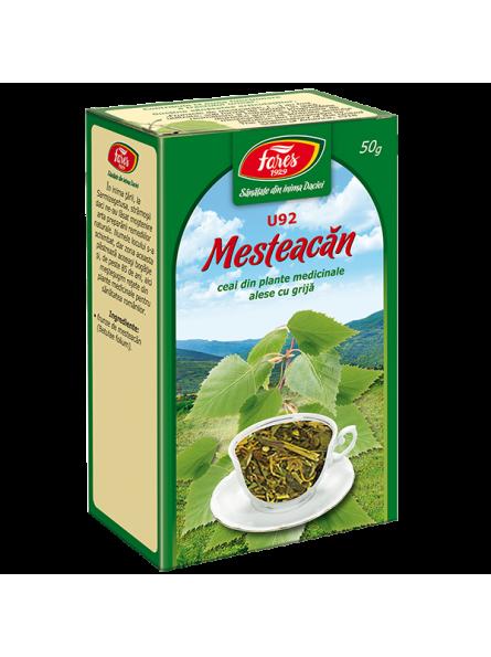 Ceai de frunze de mesteacan...
