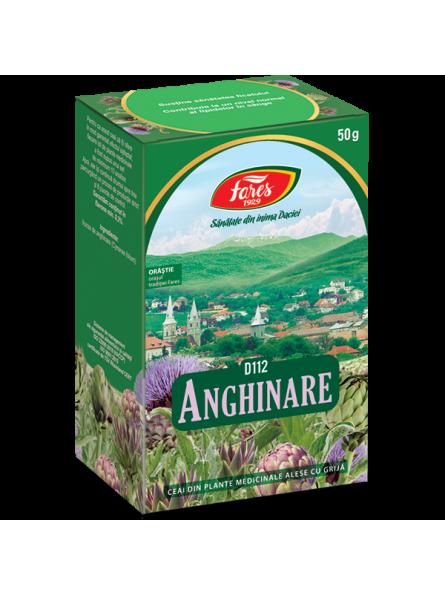 Ceai de frunze de anghinare...