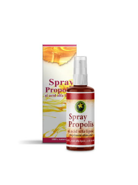 Spray cu Propolis si Acid...