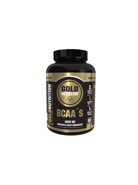 GOLDNUTRITION BCAA S 60 TB