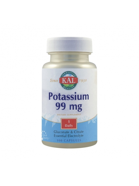 SECOM POTASSIUM 99MG 100CPS