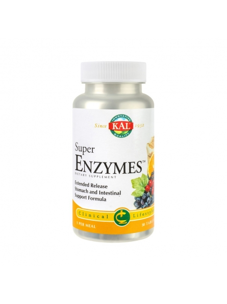 SECOM SUPER ENZYMES 30 CPR