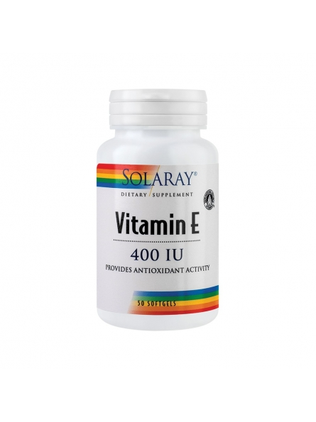 SECOM VITAMINA E 400UI 50CPS