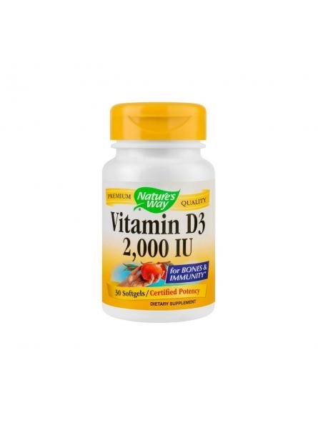 Vitamina D3 2000UI 30...