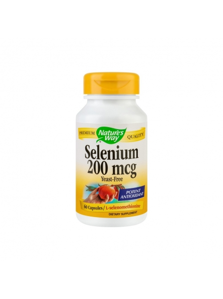 SECOM SELENIUM 200MCG 60CPS