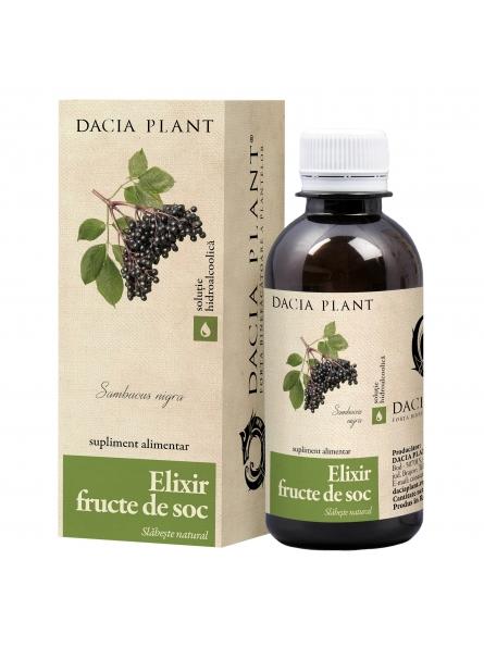 Elixir din fructe de soc...