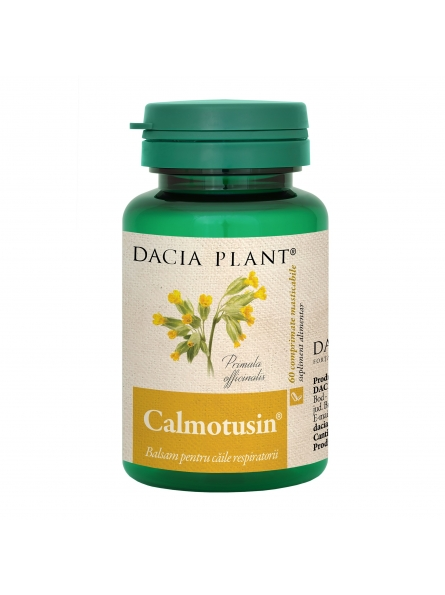 DACIA PLANT CALMOTUSIN 60 CPR