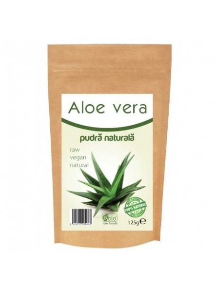 Aloe vera pulbere bio 125g...